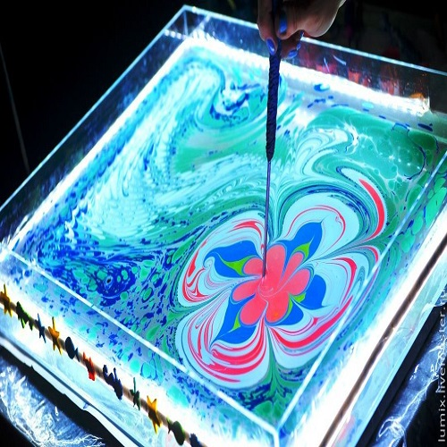 рисование-на-воде-эбру